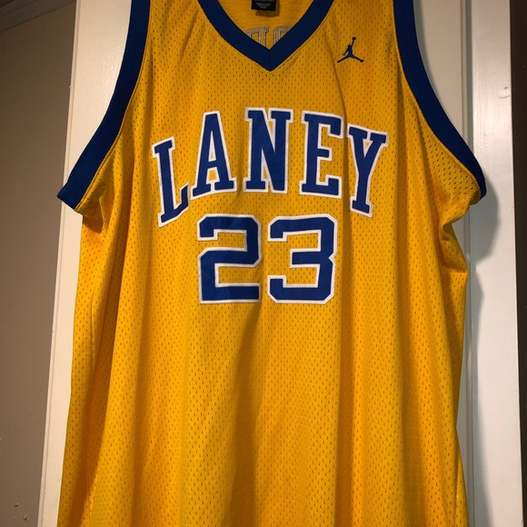 huge discount 664e3 7e55a Michael Jordan #23 Laney High School Jersey